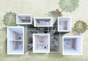 Less is more(より少ないことは、より豊かなこと)を実現したワンルームハウス。名建築ファン