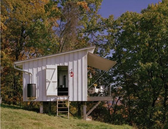 キャンプ小屋3