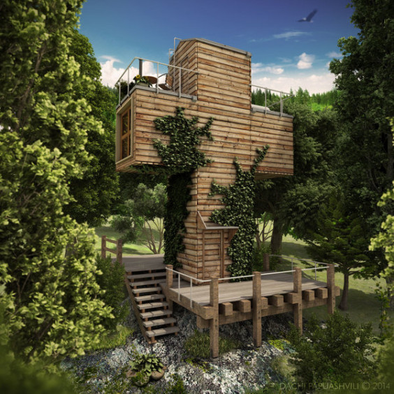 十字架ハウス1