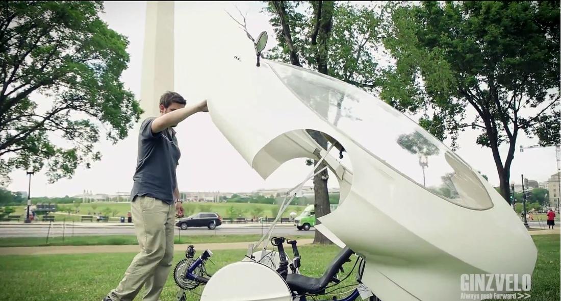 快適!屋根付き電動自転車 ...
