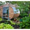災害時にも安心!「発電•貯水•クルマ移動可能」な楕円形ハウス「House Arc」